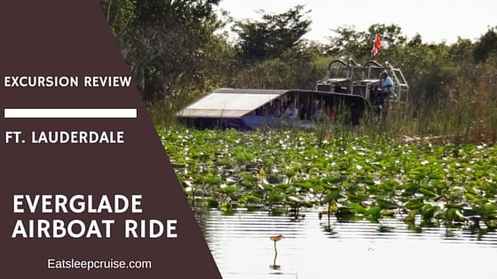 Everglades Airboat Ride Excursion Review