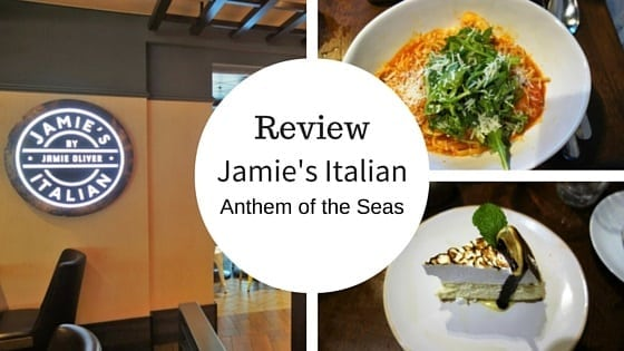 Jamie's Italian on Anthem of the Seas