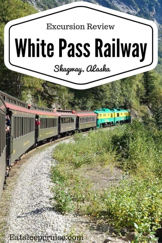 White Pass Railway in Skagway, Alaska