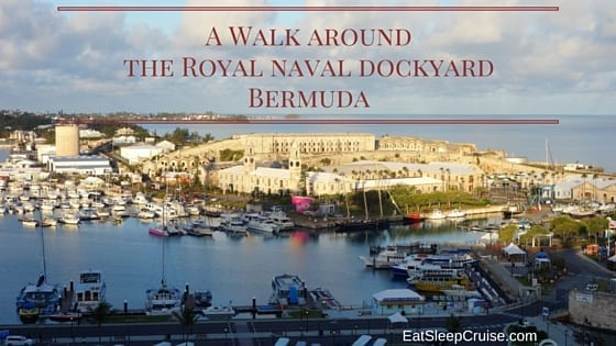 Exploring the Royal Naval Dockyard Bermuda