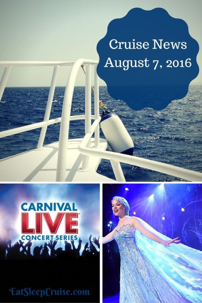 Cruise News August 7