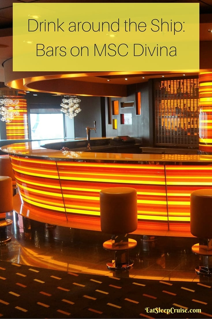 Drink around the Ship_ Bars on MSC Divina
