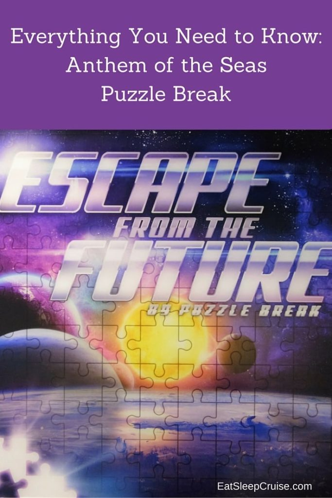 Anthem of the Seas Puzzle Break