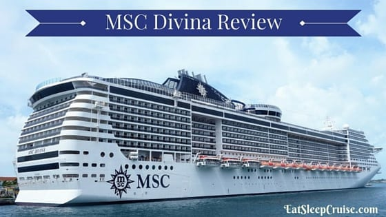 Complete Msc Divina Review From Eatsleepcruise Com