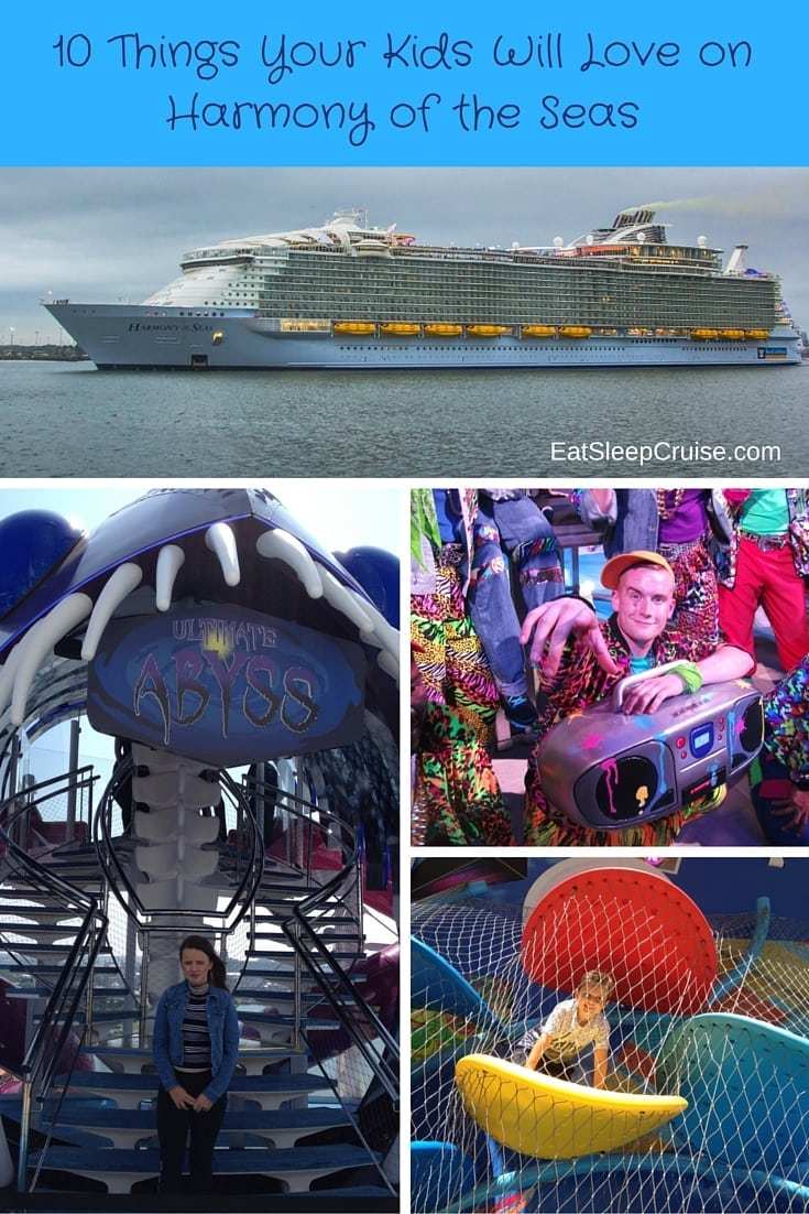 10 Things Your Kids Will Love on Harmony of the Seas