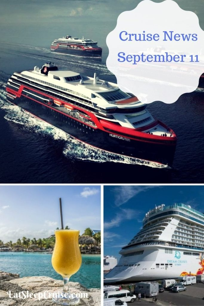 Cruise News September 11, 2016