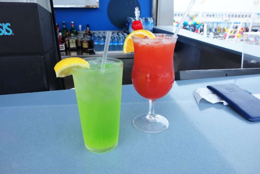Drink Packages on Oasis of the Seas