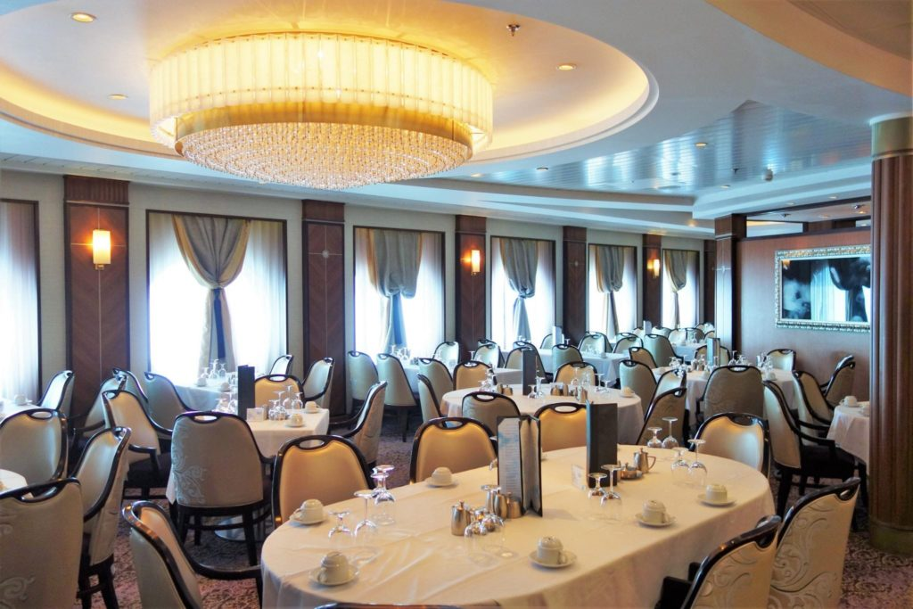 Oasis Of The Seas Western Cruise Main Dining Room Menu