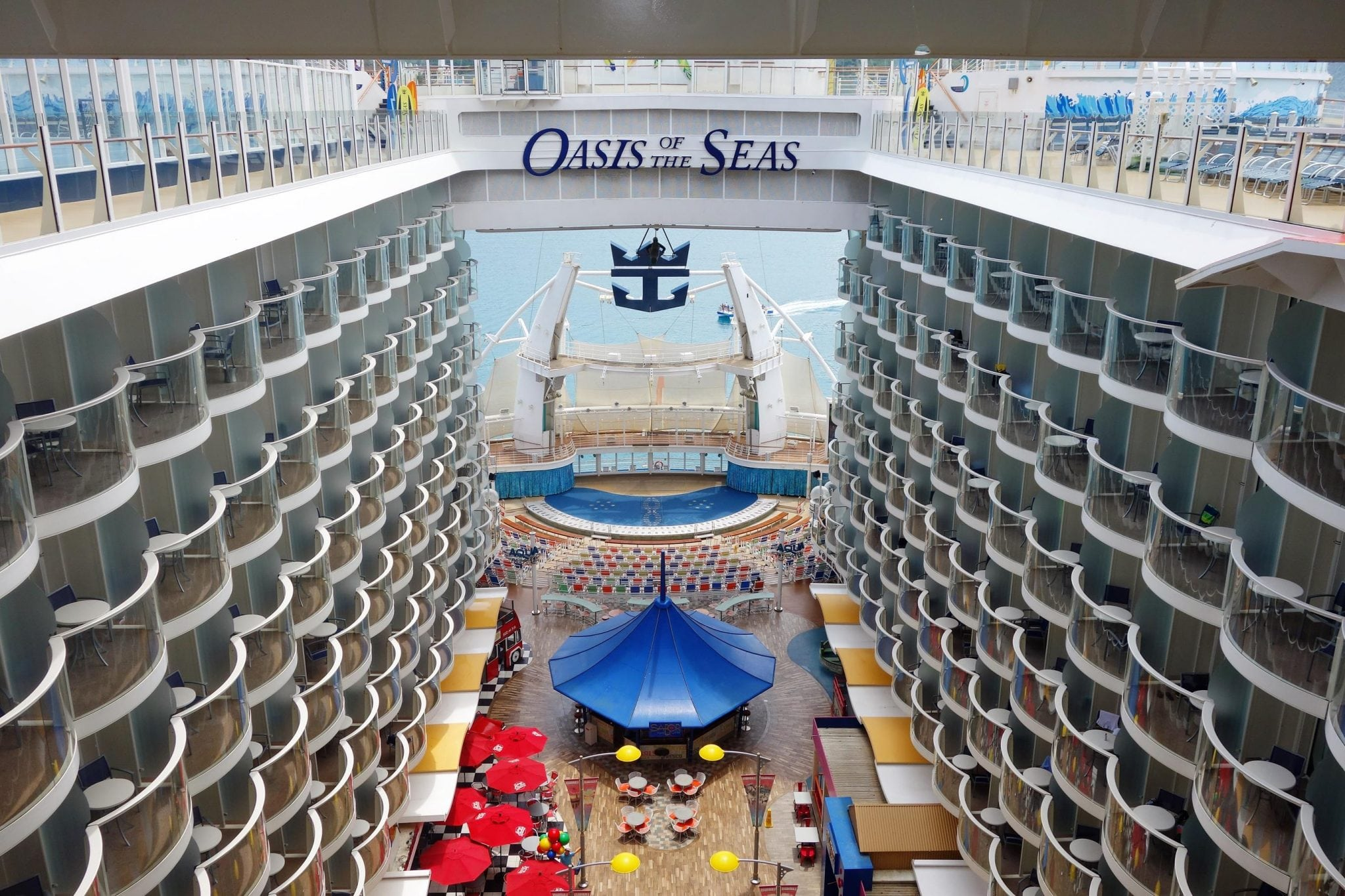 Oasis of the Seas Compass Western Caribbean Cruise