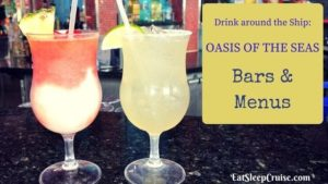 Oasis of the Seas Bars