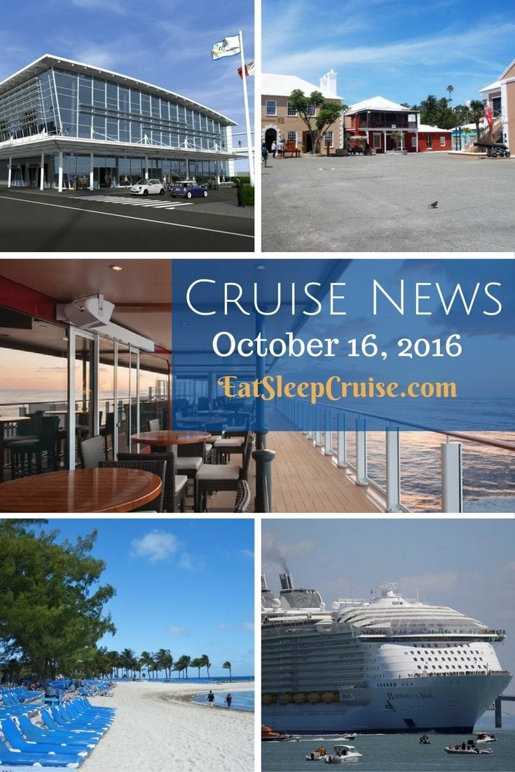 Cruise news October 16