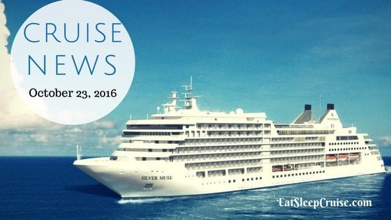 Cruise News October 23, 2016
