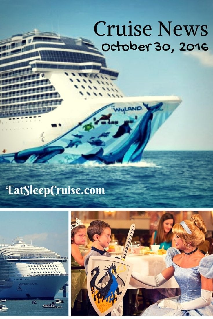 Cruise News October 30