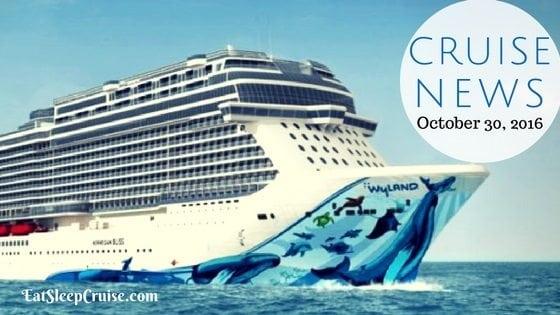 Cruise News October 30