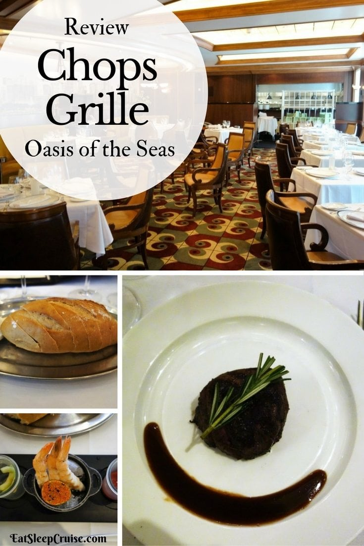 Oasis of the Seas Chops Grille