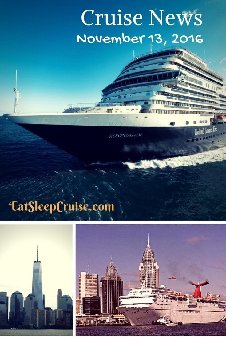 Cruise news November 13