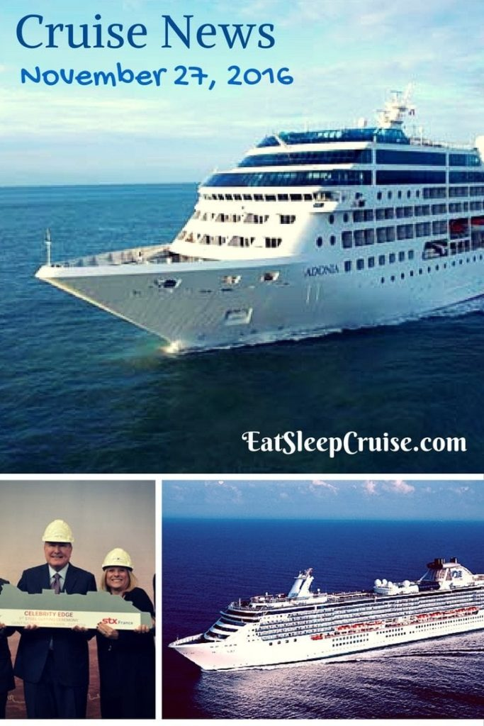 Our Holiday Edition Cruise News November 27 2016