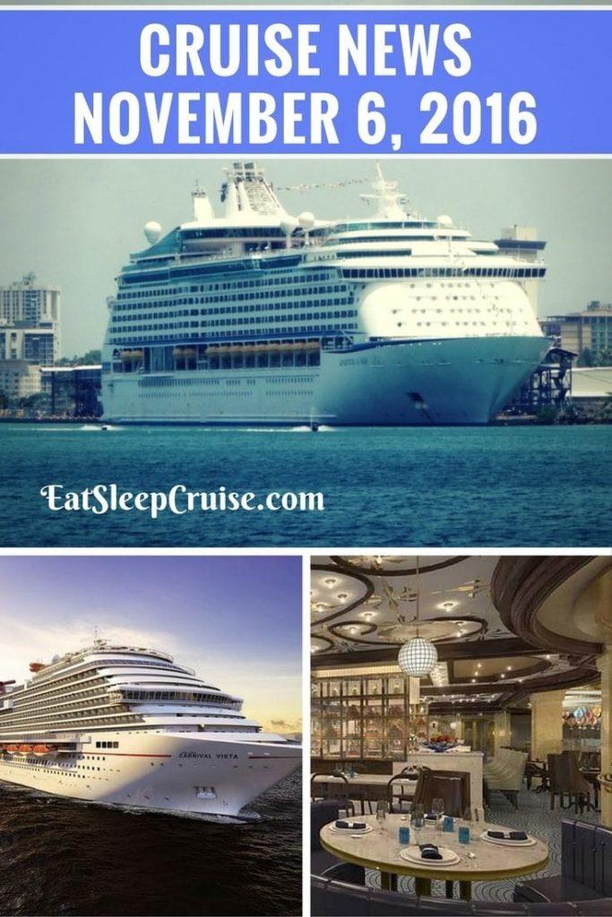 Cruise News November 6, 2016