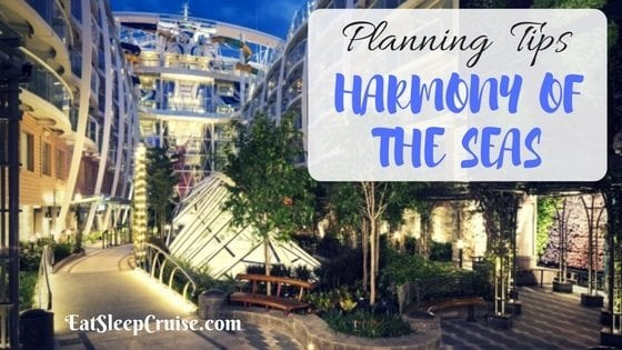 Harmony of the Seas Tips