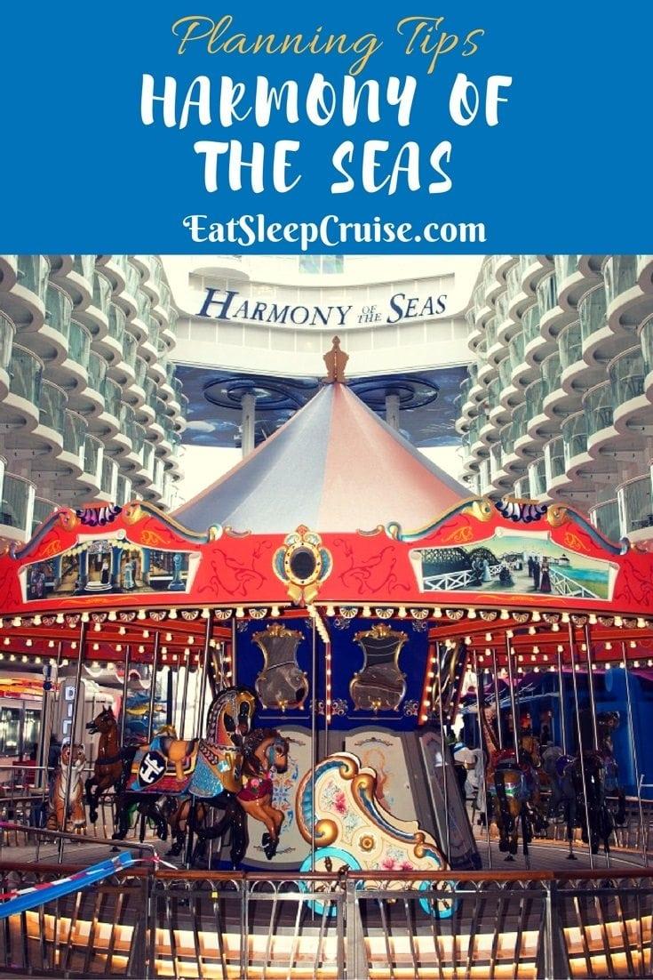 Harmony of the Seas Tips