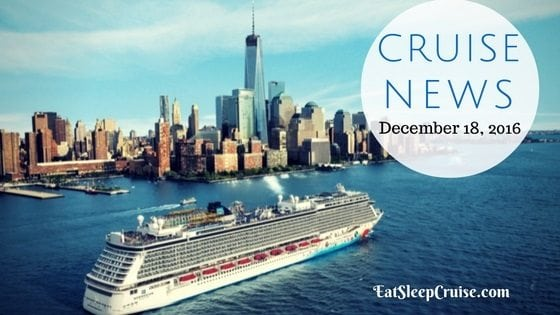 Cruise News December 18, 2016