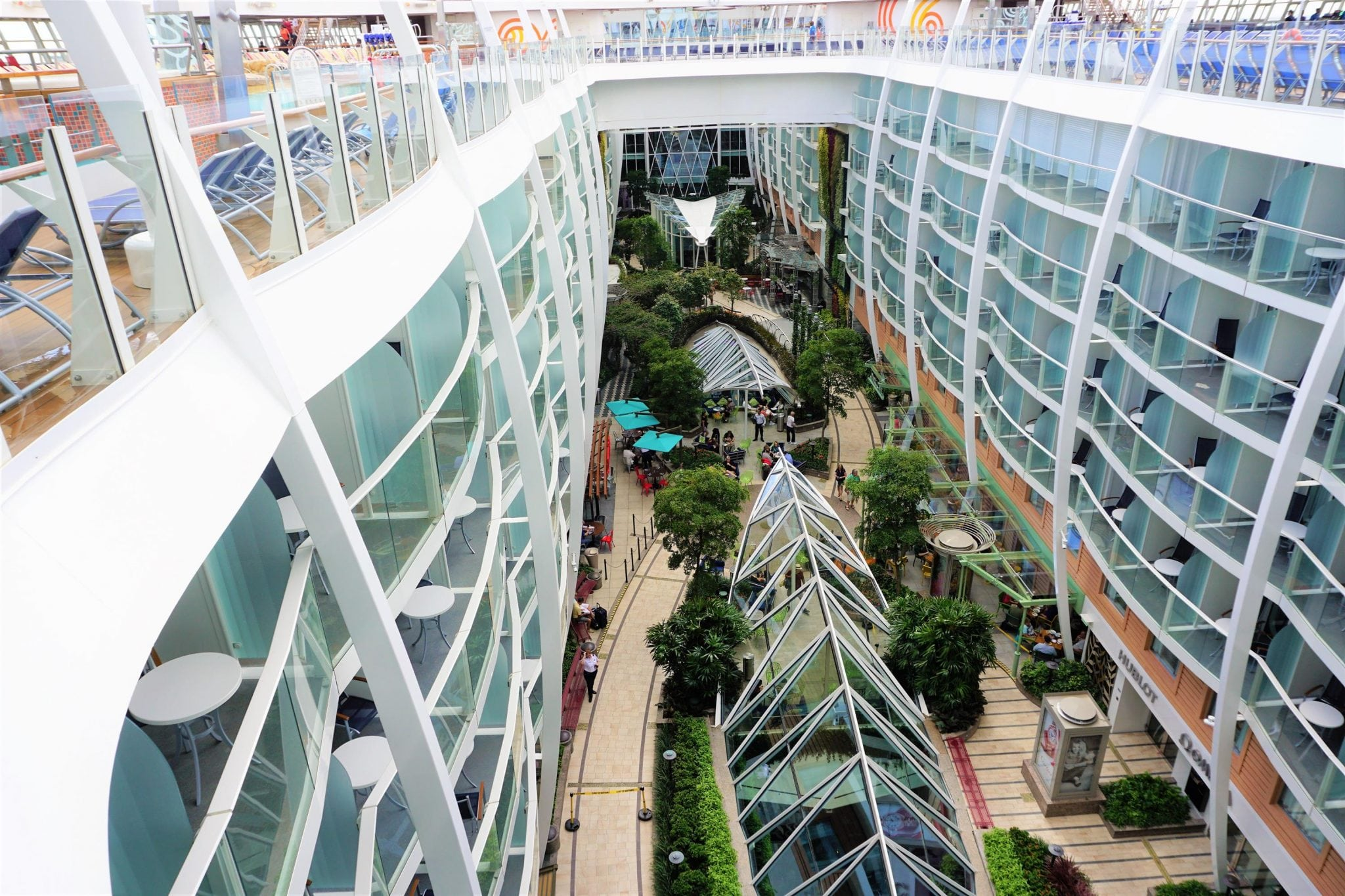 Harmony of the Seas Neighborhoods