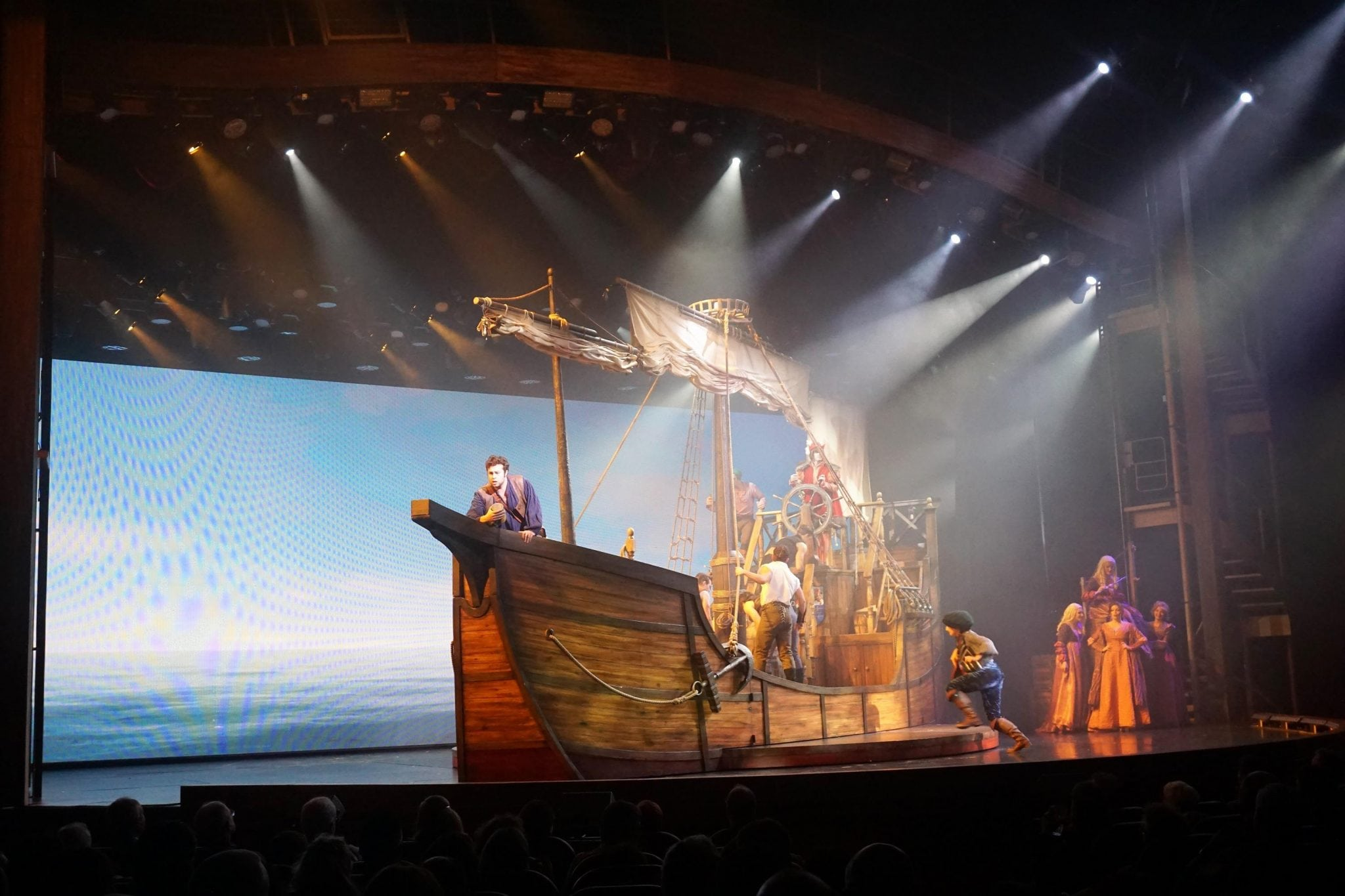 Columbus the Musical on Harmony of the Seas