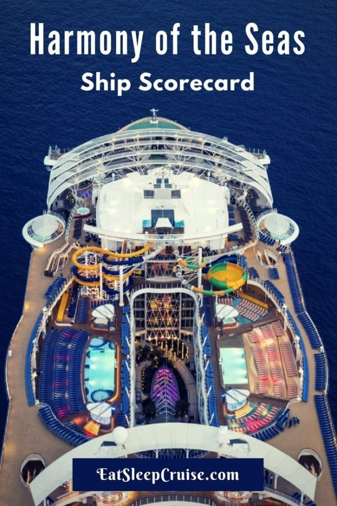 Harmony of the Seas Shp Scorecard