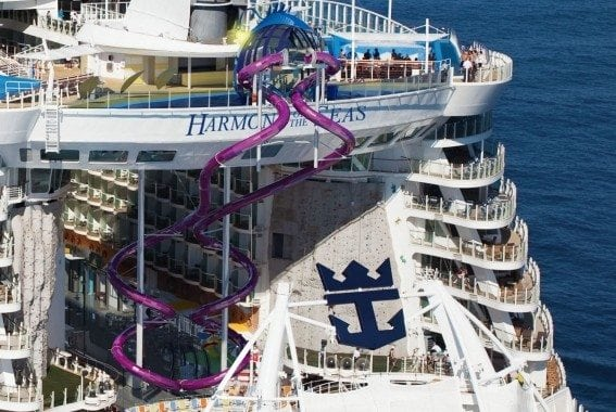 Sailing on Harmony of the Seas