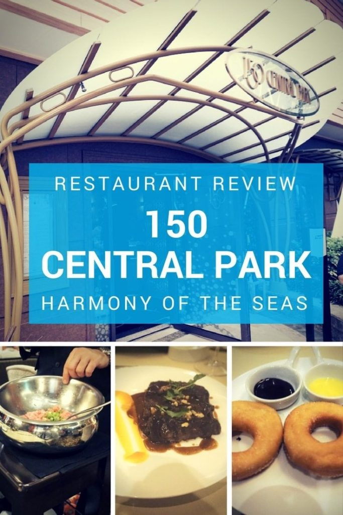 150 Central Park Harmony of the Seas Cruise Review