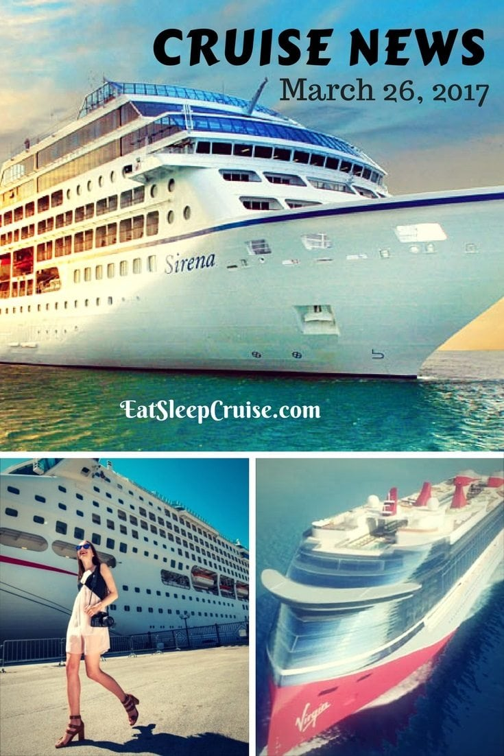 Cruise News March 26, 2017