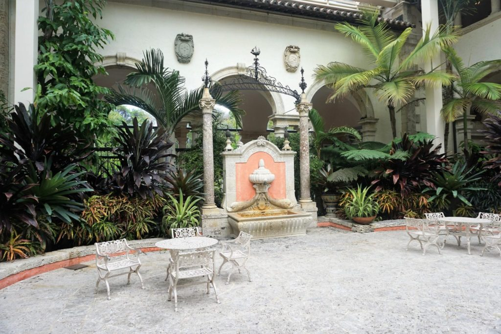 Courtyard Vizcaya Muesum and Gardens