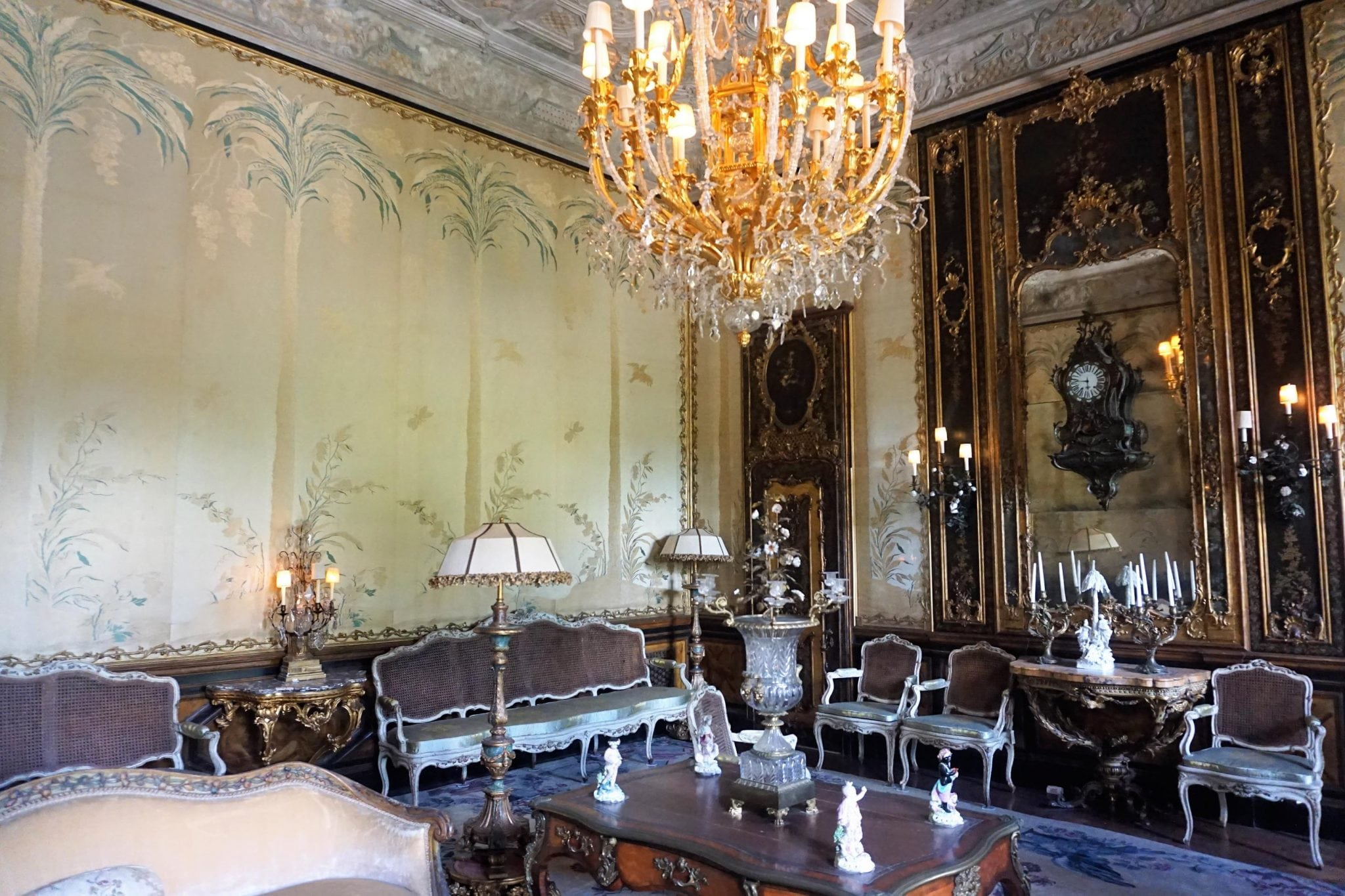 Reception Room Vizcaya Museum and Gardens