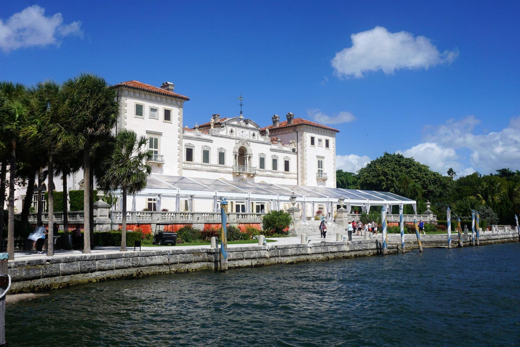 Exteroir of Vizcaya Main House