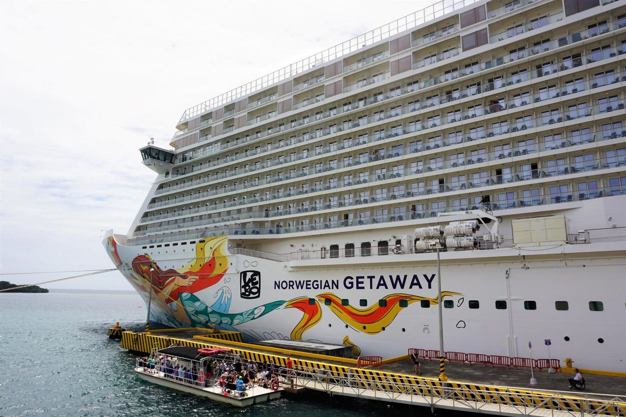 Norwegian Getaway Ship Scorecard