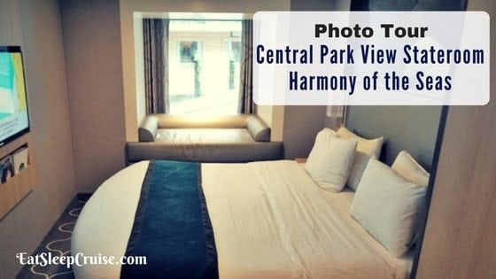Photo Tour –  Central Park View Stateroom on Harmony of the Seas