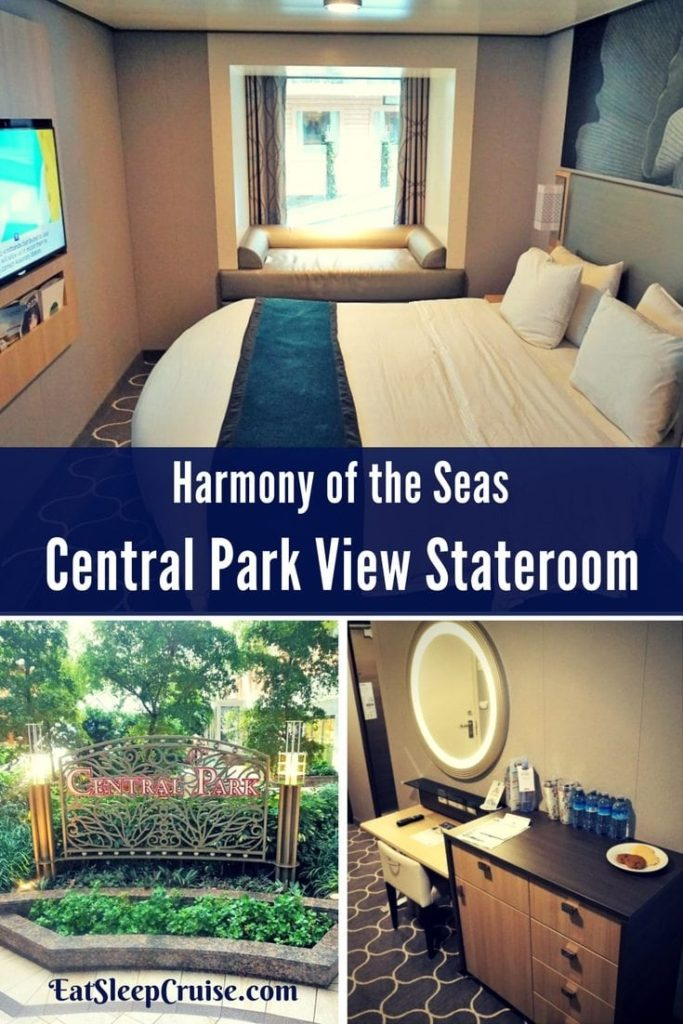 Central Park View Stateroom on Harmony of the Seas