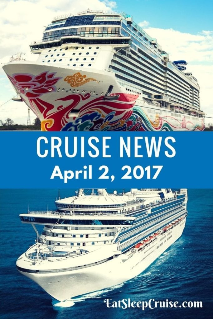 Crusie News April 2, 2017