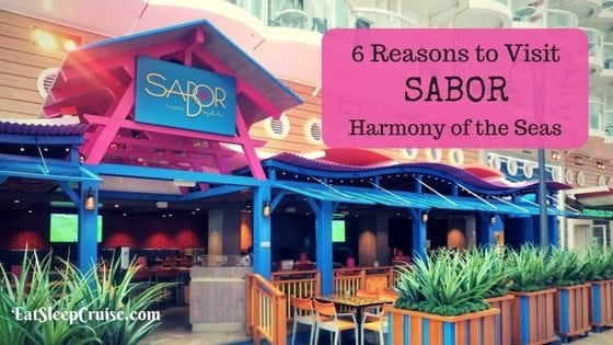 Sabor on Harmony of the Seas