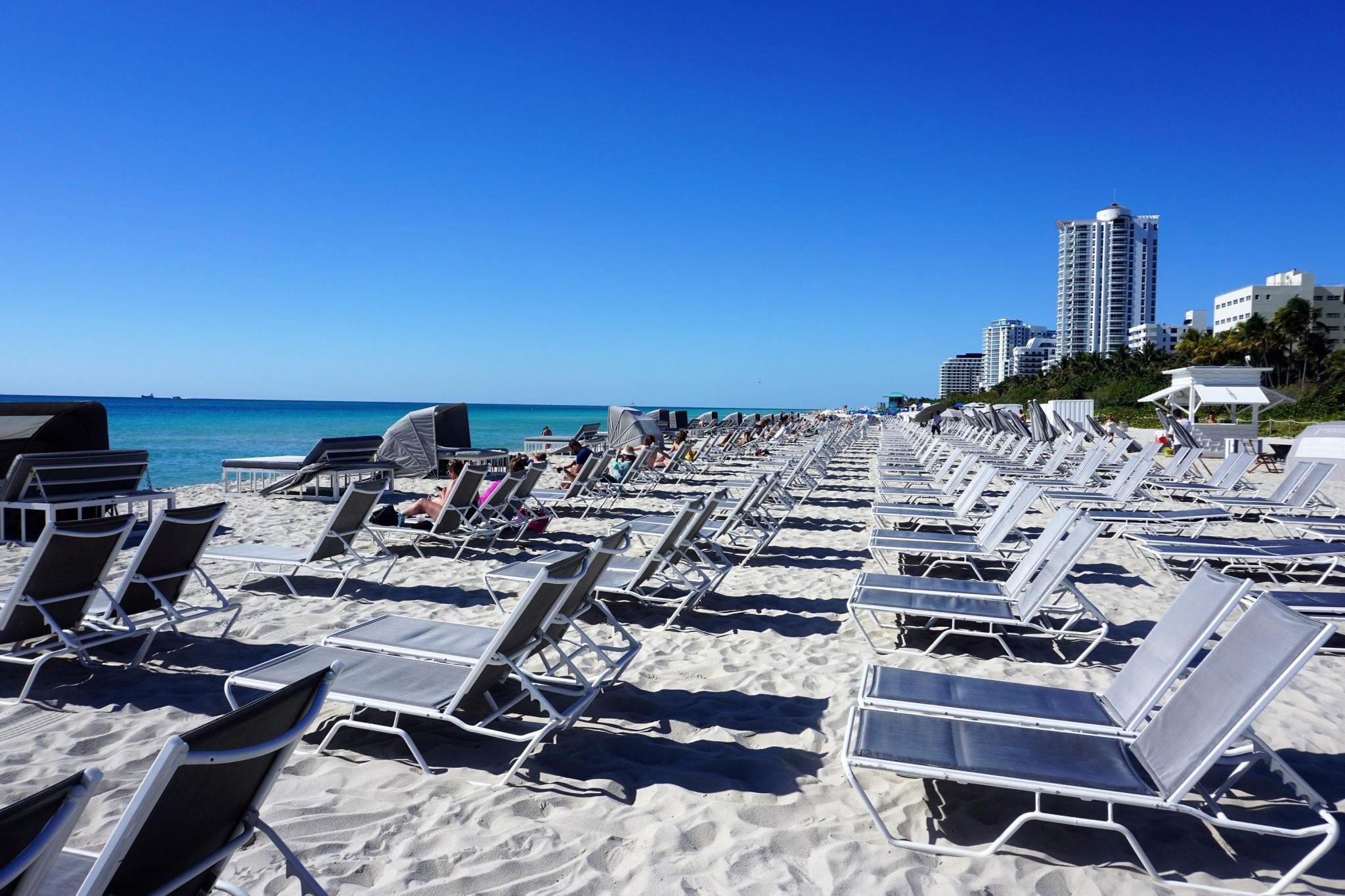 Beach Area Fontainebleau