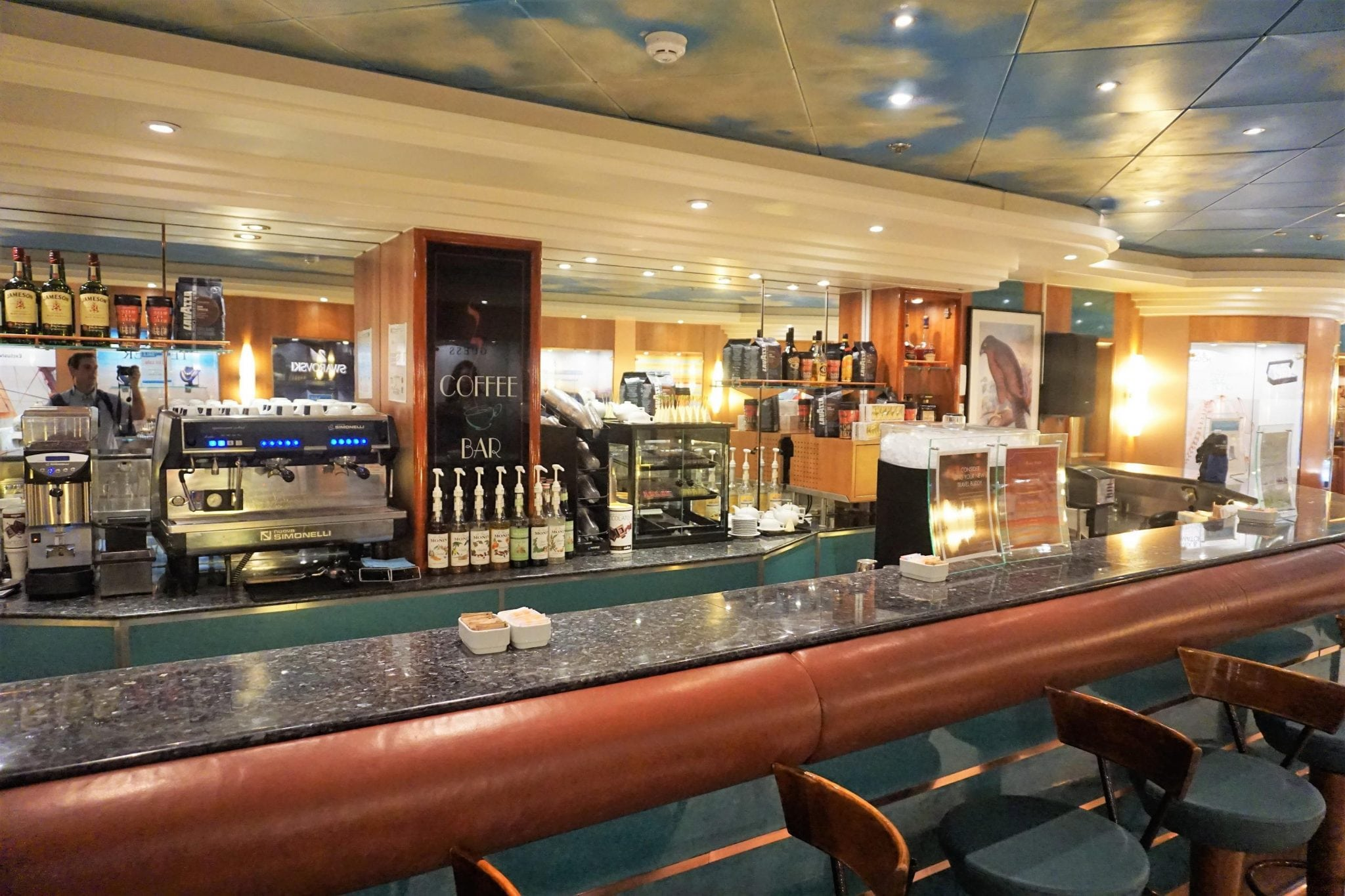 Coffee Bar - Norwegian Sky