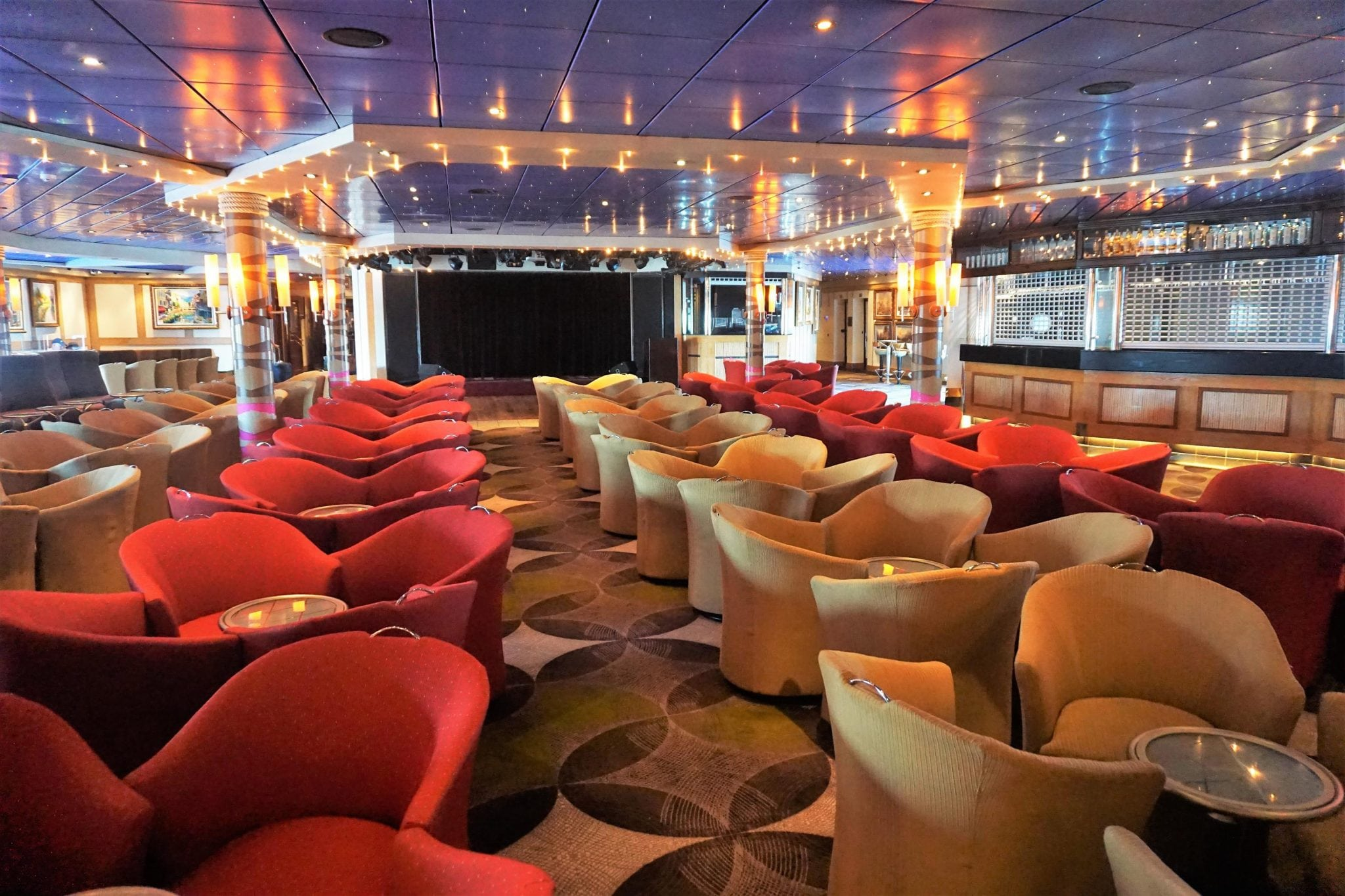 Norwegian Sky Bars - Dazzles