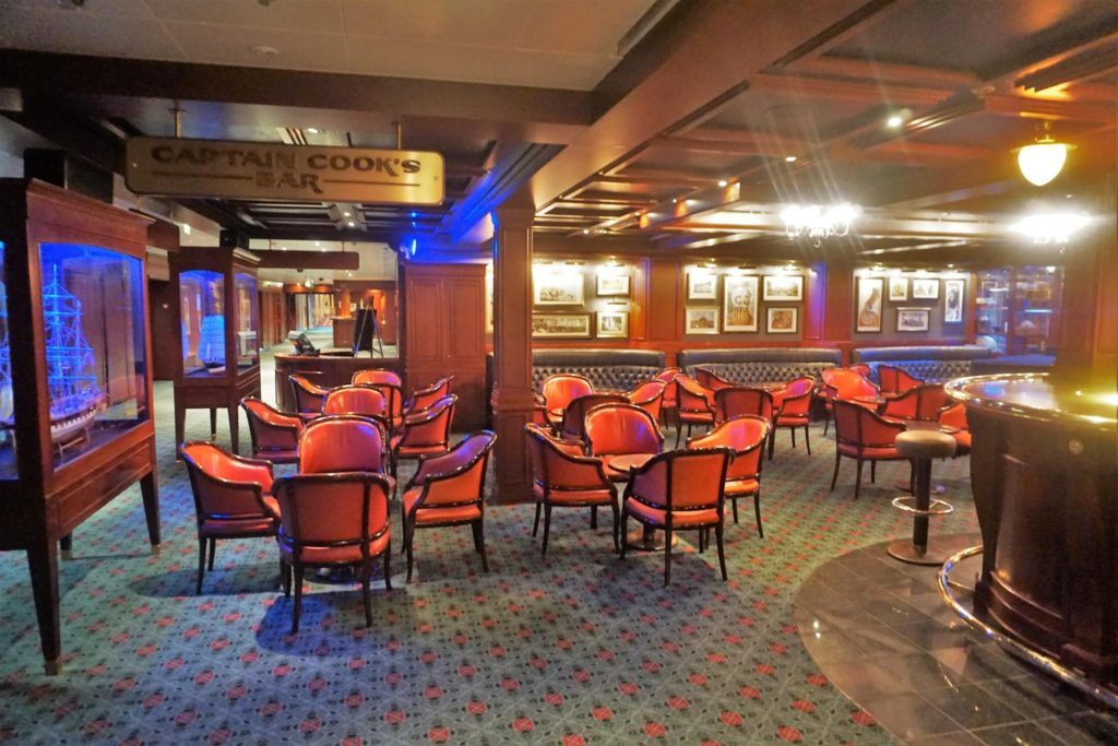 Norwegian Sky Bars - Captain Cooks Bar