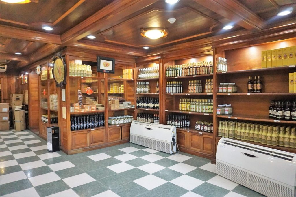 Inside the Cigar Factory and Store