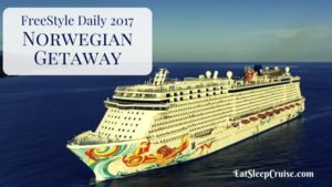 Norwegian Getaway Freestyle Daily 2017