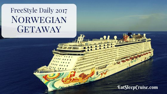 Norwegian Getaway Freestyle Daily 2017