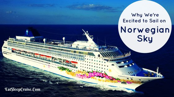 Excited to Sail on Norwegian Sky