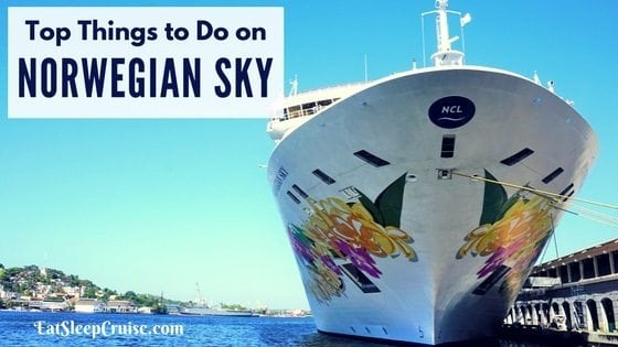 Things to do on Norwegian Sky