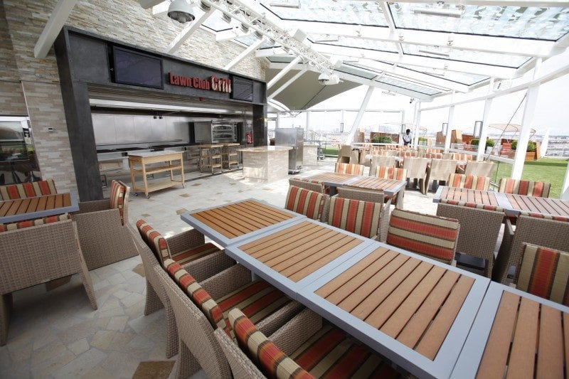 Our Six Favorite Cruise Ship Grills