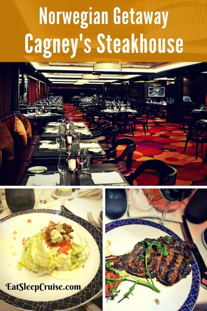 Cagney's Steakhouse on Norwegian Getaway